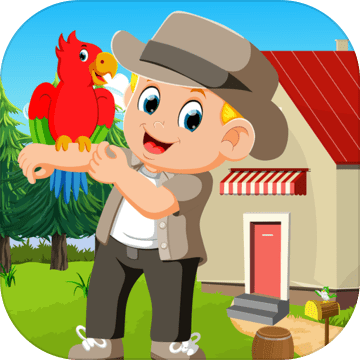 Best Escape Games -19 Stylish Boy With Parrot Game