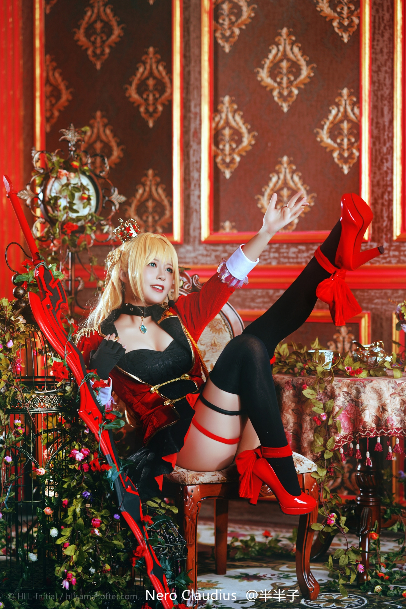 FateGrand Order 尼禄 cosplay_1