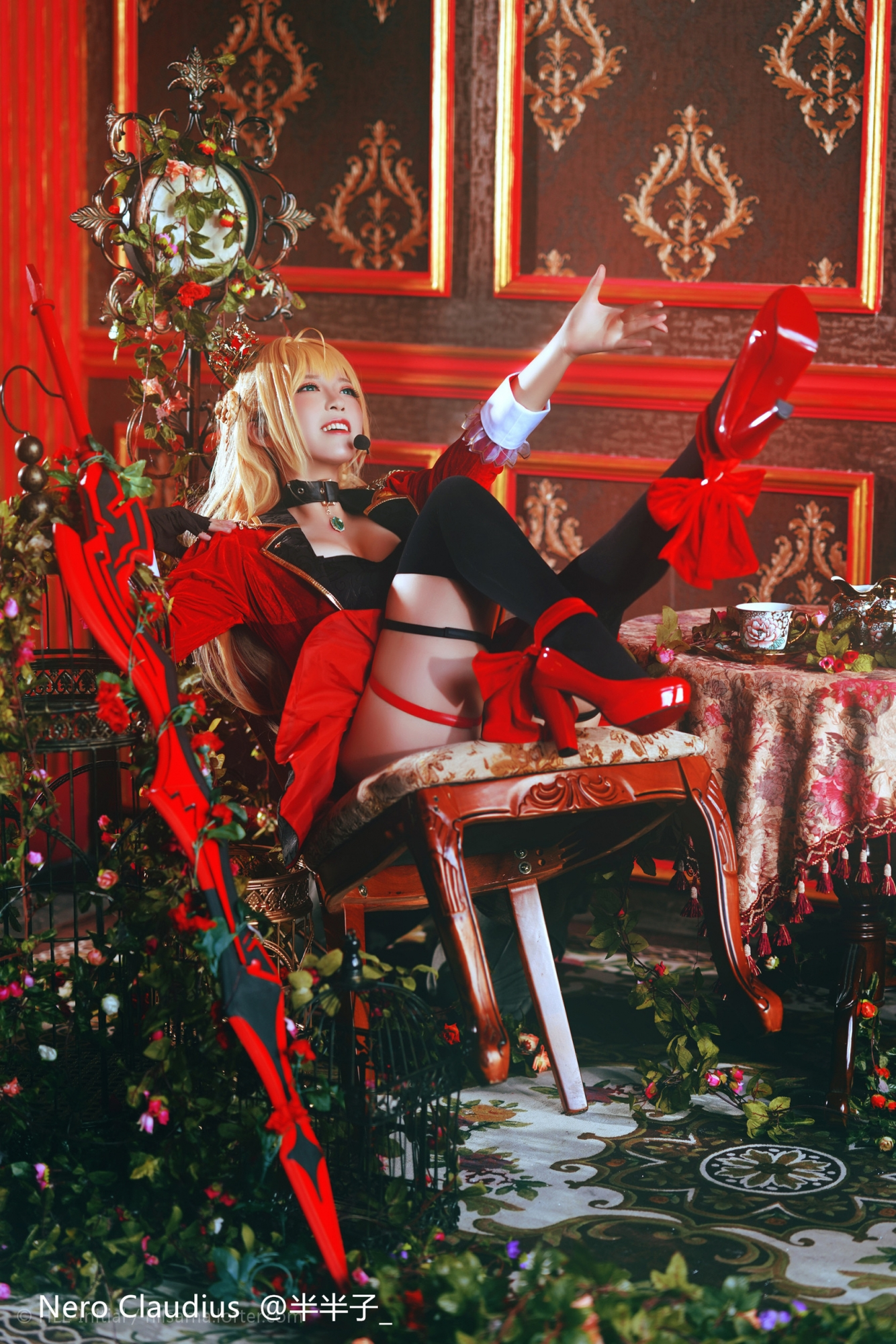 FateGrand Order 尼禄 cosplay_0