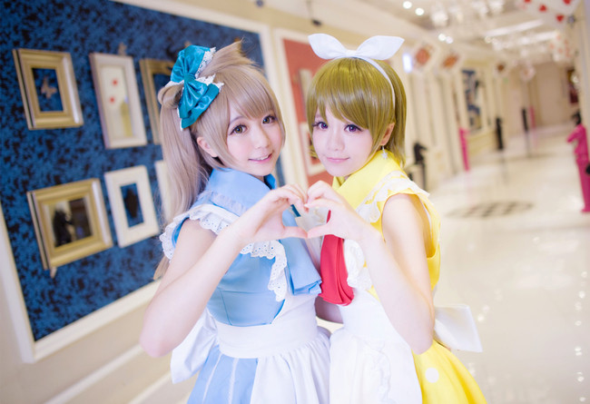 LoveLive! 小鳥&花陽 Cosplay_0